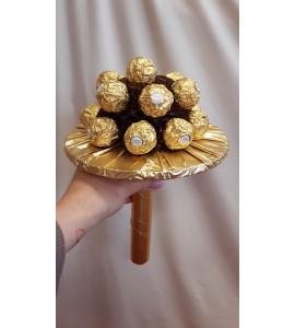 Ferrero csokoládés  virágcsokor